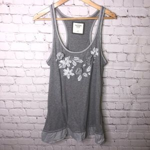 A&F Sequined Tank